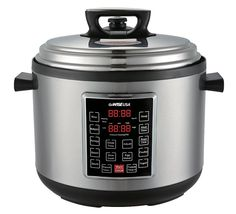 GoWISE USA 8 in 1 Programmable Electric XL Pressure Cooker w/ Ceramic Coated Cooking Pot, Measuring Cup, and Spoon (12QT) >>> This is an Amazon Affiliate link. Click image to review more details.