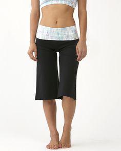 Tie-Dye Print Crop Pants / moani yoga / yoga bottoms