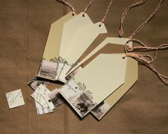 The Artistic Life: Workshop Wednesday - Inchie Gift Tags