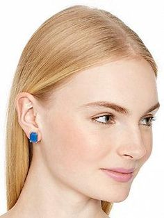 kate spade earrings emerald cut studs by kate spade new york