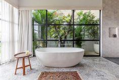 Discover Top Bathroom Design Trends for 2021 Kuta, Conception Villa, Bali Bedroom, Luxury Interior, Interior Design, Bali House, Budget Bathroom, Bathroom Ideas, Beach Bathrooms