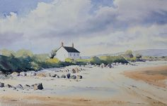 Oliver Pyle Fine Art, watercolour paintings, landscape paintings | summer