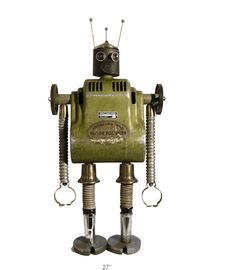 Johnson: One of the many amazing robots by Bennett Robot Works.