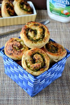 Broccoli Snack Rolls