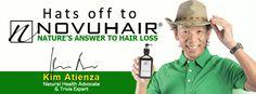 Kim Atienza, Novuhair Endorser   the web magazine Web Magazine, Hair Loss, Trivia, Natural Health, Losing Hair, Quizes, Hair Falling Out, Fall Hair