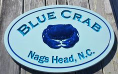 Outdoor Address Beach House 3 D Crab Cottage Signs