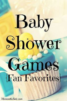 Baby Shower Games: Fan Favorites
