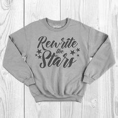 Ladies and gents, this is the moment youve waited for. Greatest Showman lyrics crewneck sweatshirt. - Cotton Material - Colors: White, Sport Gray, Black, Red, Cardinal, Navy, Charcoal, Military - Design Color: Usually black or white. Email for other preferences otherwise I would be