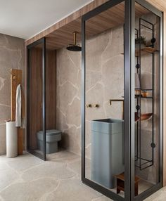 What do you think about this House? The Casa Menir is designed by for Casa Cor in - Interior Design Games, Modern Home Interior Design, Bathroom Interior Design, Bathroom Designs, Bad Inspiration, Bathroom Inspiration, Bathroom Spa, Small Bathroom, Hotel Bathrooms