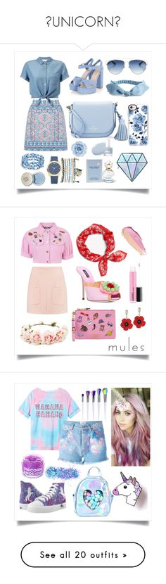 UNICORN by chlomolyn on Polyvore featuring polyvore, fashion, style, Oasis, Miss Selfridge, Kate Spade, Christian Dior, Monsoon, Casetify, Mixit, Unicorn Lashes, Marc Jacobs, clothing, Dolce&Gabbana, Moschino, See by Chloé, rag & bone, Forever 21, By Terry, Forte Couture, FCTRY, Sugarbaby, In Your Dreams, Current/Elliott, Converse, A.X.N.Y., Steve Madden, Anya Hindmarch, Charlotte Russe, Chloé, Lime Crime, Julien David, KAROLINA, ZAC Zac Posen, Victoria Beckham, Warehouse, Brixton…