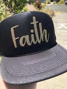 cf4f2cf9e01d3 Faith Hat trucker hat church life fashion believer hat