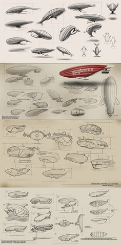 AIRSHIP ARCHANGEL on Industrial Design Served