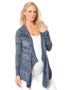 SPRING SWEATERS:  A Pea in the Pod Long Sleeve Open Front Maternity Sweater