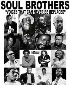 "Soul Brothers ""Voices That Can Never Be Replaced"" Music Icon, Soul Music, Music Is Life, Music Mix, Live Music, Blues Rock, Hip Hop, Soul Singers, Bagdad"
