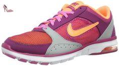 Nike  Air Max Fit, basket femme - Violet - Violett (Bright Magenta/Atomic Orange-Base Grey-Red), 36.5 EU - Chaussures nike (*Partner-Link)