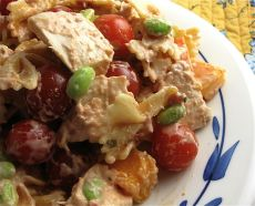 Rich and Spicy Tex Mex Chicken Pasta Salad is Creamy and Fresh