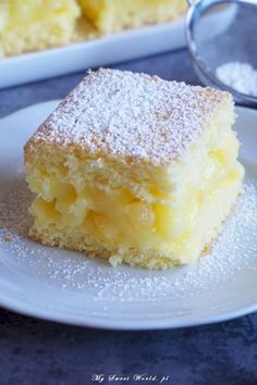 pl 2017 02 yummy-cake-with-cream-lemon-pineapple-and-pineapple-pieces www.pl 2017 02 yummy-cake-with-cream-lemon-pineapple-and-pineapple-pieces Sponge Cake Recipes, Easy Cake Recipes, Sweet Recipes, Polish Desserts, Polish Recipes, Holiday Desserts, Sweet Desserts, Delicious Deserts, Pumpkin Cheesecake