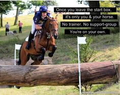 Eventing...a very exhilerating sport...