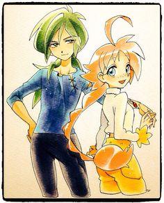 Fakiru: Fakir and Ahiru/Duck | Princess Tutu