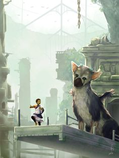 Trico, let's go there! by Lurxneat.deviantart.com on @DeviantArt