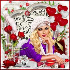 Paint Shop, Maya, Birthday Cake, Valentines, Crown, Anime, Pictures, Painting, Fashion