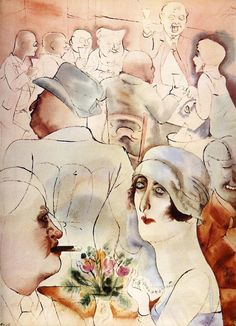 Los 10 ilustradores mas reconocidos y reconocibles de nuestra historia. George Grosz