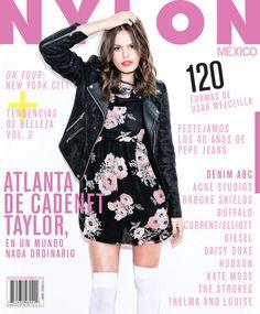Atlanta De Cadenet Appears in Nylon Mexico October 2013 Cover Story