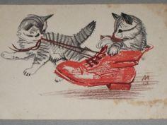 Детская Лаптев кот,котики 1964г.