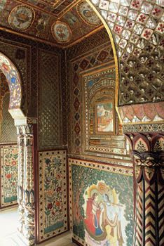 India's decorated walls