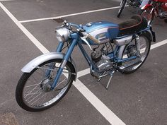 Motorcycles - Motorbikes - Classic Moto Ducati moped