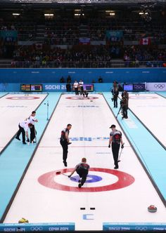 General view during the Men's Gold Medal match between Canada and Great Britain (c) Getty Images