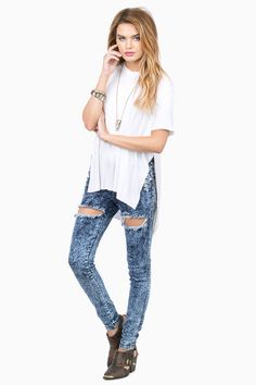 Another Level Tunic Tee