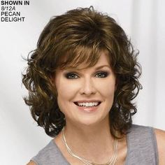 Long Color Me Beautiful WhisperLite® Wig by Paula Young® - Sale Wigs - Wigs Haircuts For Long Hair, Curly Bob Hairstyles, Hairstyles With Bangs, Wedding Hairstyles, Hairdos, Straight Hairstyles, Natural Wavy Hair, Short Wavy Hair, Medium Hair Styles