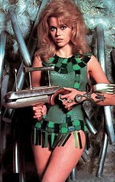 Jane Fonda in Barbarella costume by Jacques Fonteray and Paco Rabanne, Fashion Gone Rogue