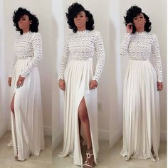 sort_by=best , Shop plus size prom dresses and full figured formal gowns with an affordable price. Split Prom Dresses, Prom Dresses Long With Sleeves, Wedding Dresses, Dress Outfits, Fashion Dresses, Dress Up, Dress Long, White Dress Summer, Summer Dresses