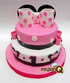 Mr.ponQ torta minnie mouse