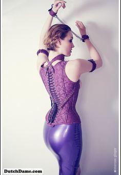 "dutch-dame: "" Do you like corsets? DutchDame wearing gorgeous corset by Bizarre Design. Photo by Marcus Gloger. http://www.dutchdame.com/ """