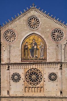 Il duomo di Spoleto, Provincia di Perugia, Umbria - Italy (Il Mosaico di Solsterno (1207)