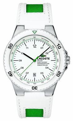 Lacoste Men's Toronto White/Green : Watches