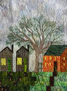 Judith Reilly-茱迪絲-美國獲獎的織物藝術家, 豐富的色彩和鮮明的線條, 輕鬆的精神相互交織夢幻與現實。。。 - ☆平平.淡淡.也是真☆  - ☆☆milk 平平。淡淡。也是真 ☆☆