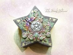 Pentacle Fairy Box by EnchantedTokenArt on deviantART