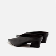 LEATHER MULES-Leather-SHOES-WOMAN | ZARA Ireland
