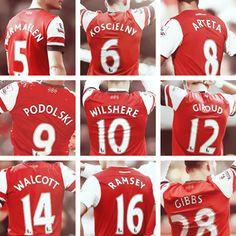Arsenal Shirts.