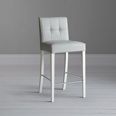 Buy John Lewis Simone Leather Barchair Online at johnlewis.com