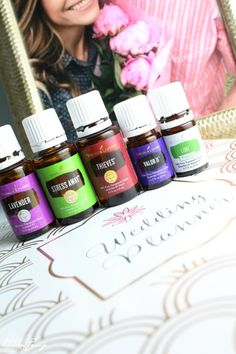 5 Must Have Essential Oils for Wedding Planning! If you are planning a Winter Wedding - LIKE ME!!! You will want to read this :)!