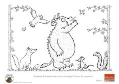 The Gruffalo Colouring Pages the gruffalo colouring pages funycoloring children coloring pages The Gruffalo, Gruffalo Party, Printable Coloring Pages, Colouring Pages, Coloring Pages For Kids, Coloring Sheets, Gruffalo Activities, Preschool Activities, Infant Activities