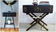 De lunes a domingo: Reutiliza y decora utilizando viejas maletas