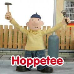 Wenskaart Buurman en Buurman Hoppetee