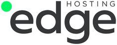 Brand New | Edge Hosting  - sleek logo - minimalist - soft black - san-serif - revised logo