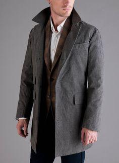 Astor Coat - Grey    Want grey coat this length.  current peacoat is too big! :)